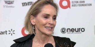 Sharon Stone sin filtros, operaciones de estética o maquillaje a los 62 años