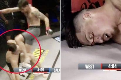 Deja KO a su rival de un gancho, pero le propina un rodillazo 'extra' en la cara y lo descalifican por 'cabrón'