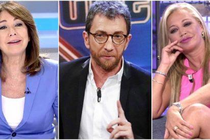 Ana Rosa, Pablo Motos o Belén Esteban: los astronómicos sueldos de las estrellas televisivas