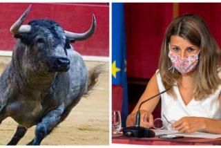 Los taurinos 'empitonan' a la podemita Yolanda Díaz por el descabello a sus economías