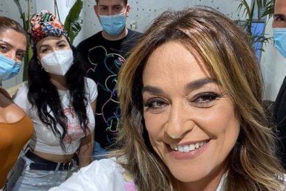 Toñi Moreno agradece la confianza que Mediaset ha puesto en ella y comete un desliz sin igual