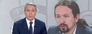 """Vicente Vallés: """"Me preocupó que Pablo Iglesias, con los problemas que tiene España, hablase de mí en Moncloa"""""""