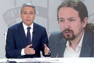 Vicente Vallés descubre los planes ocultos de Pablo Iglesias con su invectivas contra Felipe VI