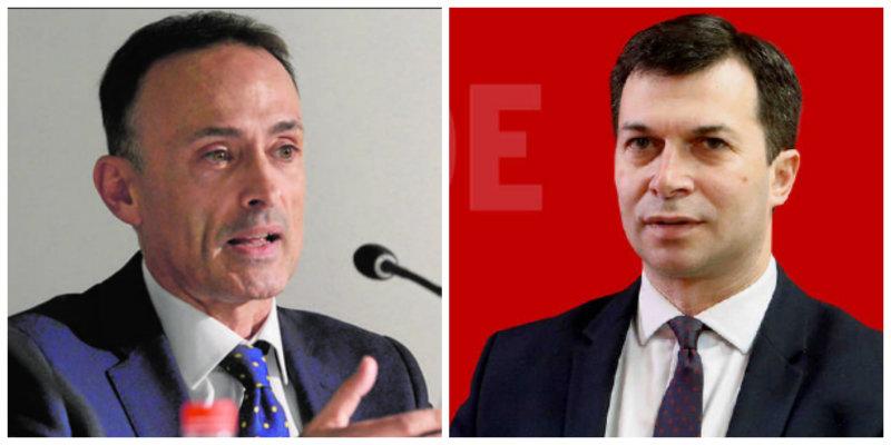 """Ventoso (ABC) se pitorrea de Caballero (PSOE) por vaticinar que un tsunami arrasará a Feijóo: """"Eso no sale ni en los guisos de Tezanos"""""""