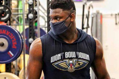 Zion Williamson impacta con su asombroso cambio físico en el regreso de la NBA