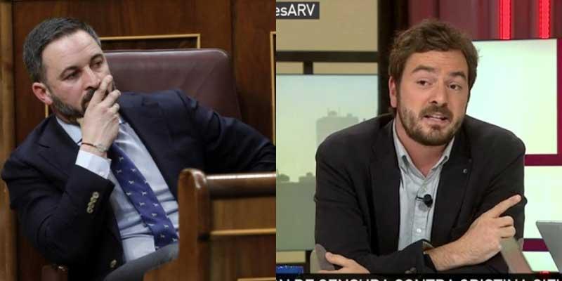 """VOX se enzarza con Bustos por criticar la moción a Sánchez: """"El mayor aliado del PSOE es laSexta, de la que tú cobras un dineral"""""""