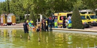 El peligro de bañarse en las fuentes: fallece un adolescente succionado por la tubería de desagüe en Móstoles