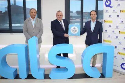 Alsa recibe el sello 'Safe Tourism Certified' que otorga el ICTE