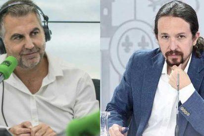 """Alsina desnuda a Iglesias: """"Ahora el poderoso es él y usa su posición para reproducir en La Moncloa campañas contra periodistas"""""""