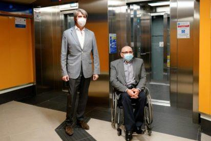 La Comunidad de Madrid amplía la accesibilidad de Metro con la instalación de nuevos ascensores