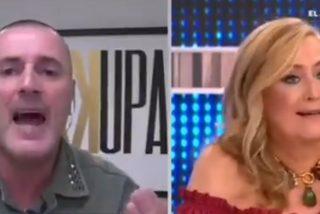 """El 'desokupa' empitona a Elisa Beni en directo: """"¡Pero cómo puedes ser tan ignorante!"""""""
