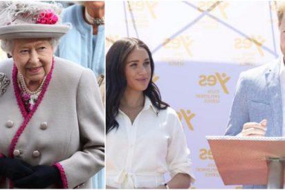 El descarado gesto público de la reina Isabel II que precipitó la marcha del príncipe Harry y Meghan de la monarquía