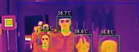 Termografía infrarroja contra el coronavirus: así funciona para el control de temperaturas en grupo