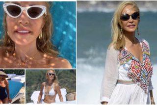 Un día de vacaciones con... Carmen Lomana: fantástico ático, paparazzis y jornada playera en Marbella