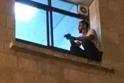 Coronavirus: el dramático final del chico que escalaba a la ventana del hospital para ver a su madre