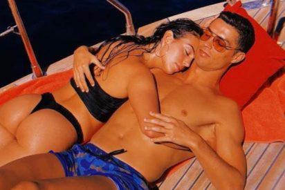 Cristiano Ronaldo y Georgina exhiben sus esculturales cuerpos en Internet: sugerentes posados y millones de 'likes'