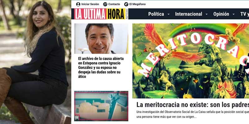 """No es coña: el grotesco panfleto de Iglesias, Montero y Dina abre afirmando que """"la meritocracia son los padres"""""""
