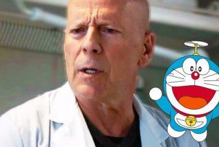 El anuncio de Bruce Willis convertido en Doraemon que acabó siendo tendencia mundial