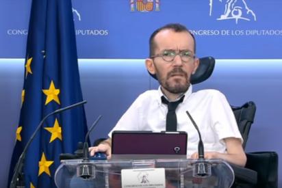 La cobarde y falsa excusa de Pablo Echenique para censurar las preguntas sobre sus ataques a Vicente Vallés