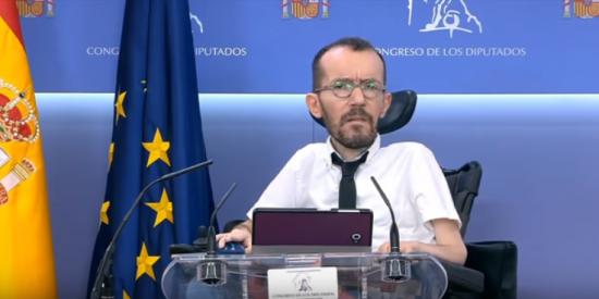Echenique rompe su silencio tras el batacazo electoral de Podemos y la que le cae es gloriosa