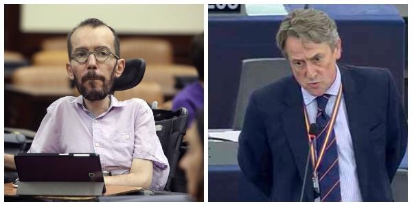 """Si 'Echeminga' llama """"violador"""" a un inocente es libertad de expresión; si lo hace Tertsch lo 'empapelan' con 12.000 €"""