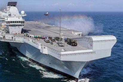 Reino Unido enviará el portaaviones Queen Elizabeth al Mar de China Meridional