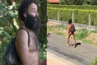 El shock de una reportera de Antena3 cuando se encuentra en el Camino del Santiago a un peregrino... ¡en cueros!