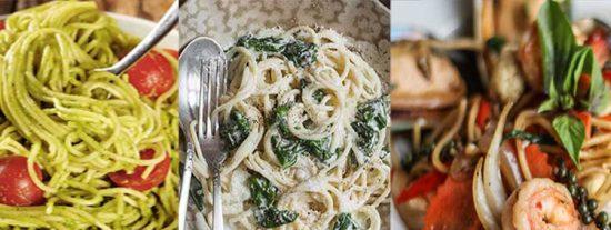 Espaguetis: Tres recetas fáciles y deliciosas
