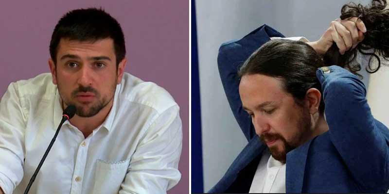 """Espinar no suelta la presa y hurga por segunda vez en la herida de Podemos: """"Batacazo tras batacazo"""""""