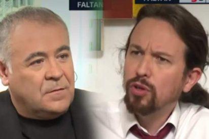 Un error de Ferreras defendiendo a Pablo Iglesias 'el cloacas' deja al presentador a los pies de los caballos en Atresmedia