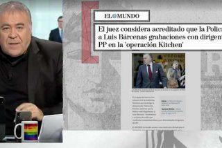 Informe PD: García Ferreras pasa de puntillas por el 'caso Dina' y solo lo toca para que sus tertulianos exculpen a Pablo Iglesias