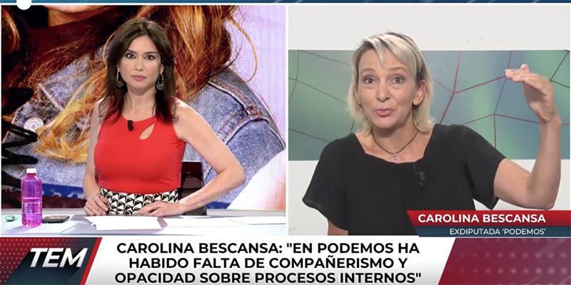 """Bescansa se suma al apaleamiento a Pablo Iglesias en la venganza de los expodemitas: """"Faltó compañerismo"""""""