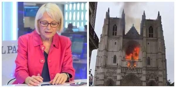 La agencia EFE 'verifica' a los medios críticos con el Gobierno y exculpa a los islamistas del incendio de Nantes