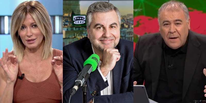 Roma no paga 'traidores': el panfleto de Podemos arremete por órdenes de Iglesias contra Griso, Alsina y Ferreras