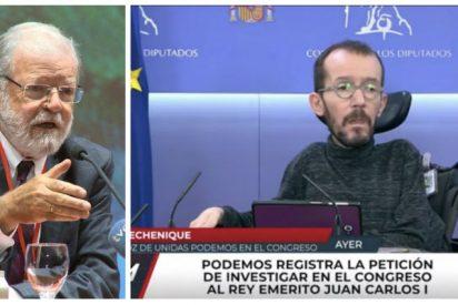 """El socialista Ibarra 'destrona' a la tropa podemita y separatista: """"Saben tanto de la Corona como de coronavirus"""""""