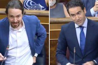 El épico zasca de Teodoro García-Egea a Pablo Iglesias en el Congreso para risotadas de todos
