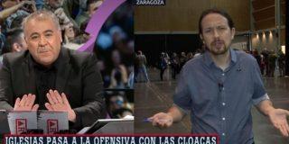 El Quilombo / Ferreras ya no se acuerda de cuando tuvo que cortarle el audio a Iglesias por llamarle 'cloaquín'
