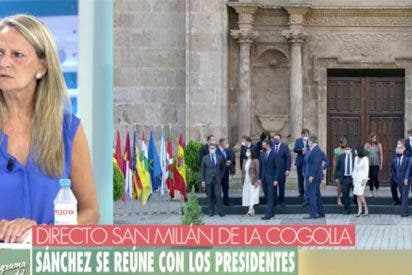"""Isabel San Sebastián lamenta lo que saldrá de la conferencia de presidentes: """"¡Esto es el ejército de Pancho Villa!"""""""