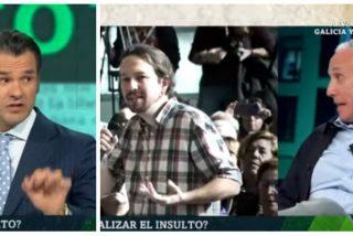 """Inda pilla en otro renuncio a Iñaki López: """"Se os ha olvidado poner el corte donde Iglesias me llama tipejo"""""""