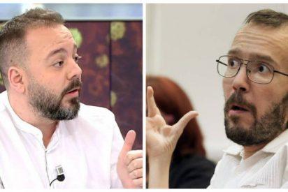 Cuchilladas en la izquierda: Ni Antonio Maestre digiere el repugnante 'escrache' de Echenique a Vallés