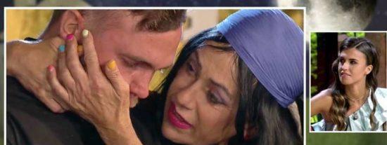"""Maite Galdeano y su hijo Cristian, protagonistas del mayor drama de 'La casa fuerte': """"¡Abandono! ¡Me voy de aquí!"""""""