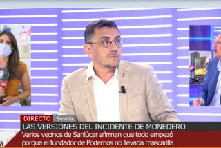 Monedero acosa en directo a una reportera de Cuatro y Joaquín Prat estalla: pelea a gritos y amenaza