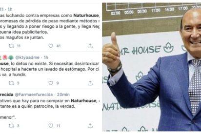 Las hordas podemitas de Twitter acosan al dueño de Naturhouse y el tiro les sale por la culata