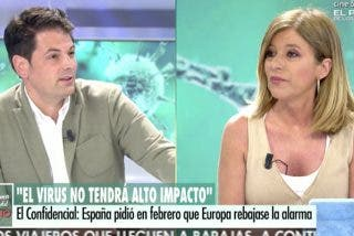 El penoso mosqueo de Esther Palomera en TV, perdiendo los papeles con los que cuentan la verdad sobre Fernando Simón