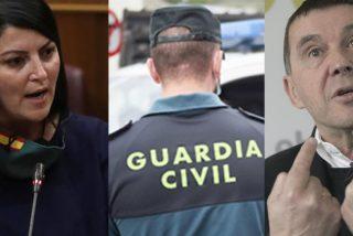 """Macarena Olona zarandea a Otegi por arremeter contra la Guardia Civil: """"Antes buscabas su nuca, ahora vas a encontrar a VOX"""""""