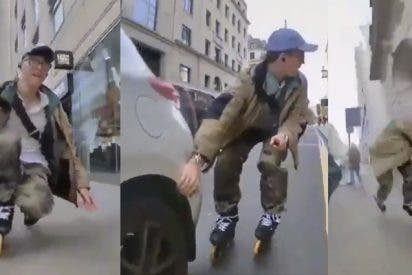 Este patinador publica en vídeo una metáfora de lo que era la vida hasta que llegó la pandemia