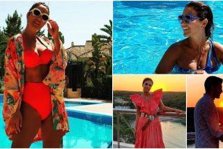 Un día de vacaciones con... Paula Echevarría: 1.300 euros por noche y gastronomía de 'alto standing' en Menorca