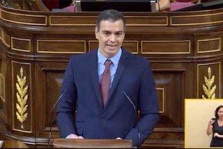 Sánchez se coloca a sí mismo en la historia y asegura que España tendrá con él un Plan Marshall del que se quedó fuera Franco