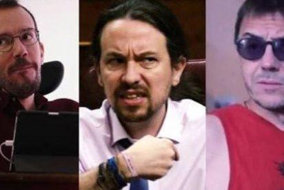 Iglesias lanza a Echenique y Monedero contra El Mundo por recordar el pastizal que cobró de Irán el líder de Podemos