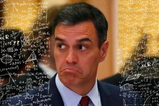 """Los economistas se mofan de Pedro Sánchez por no saber ni sumar en TV: """"¿Cómo puede meter la pata así?"""""""